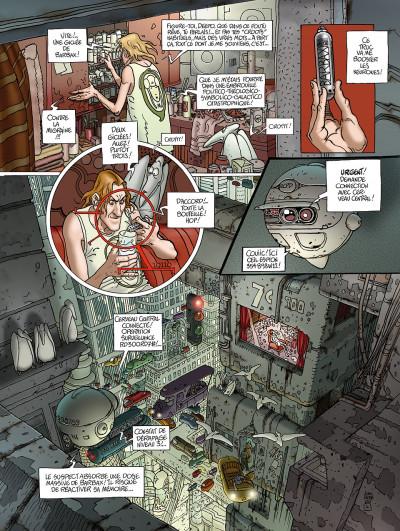 Page 4 après l'incal tome 1 - le nouveau rêve édition 2011
