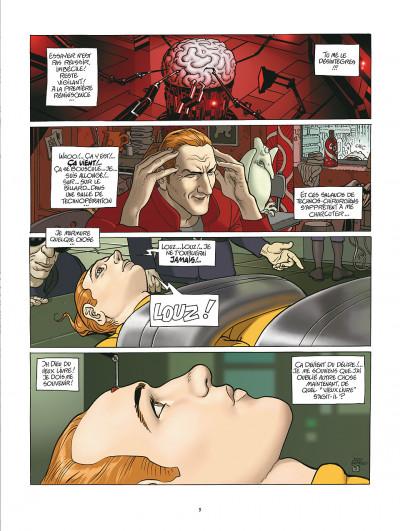 Page 5 après l'incal tome 1 - le nouveau rêve édition 2011