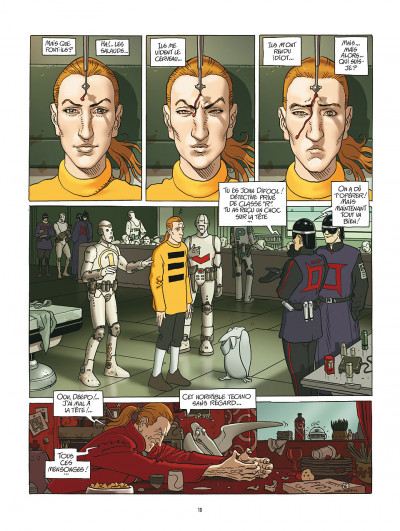 Page 6 après l'incal tome 1 - le nouveau rêve édition 2011