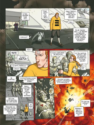 Page 7 après l'incal tome 1 - le nouveau rêve édition 2011