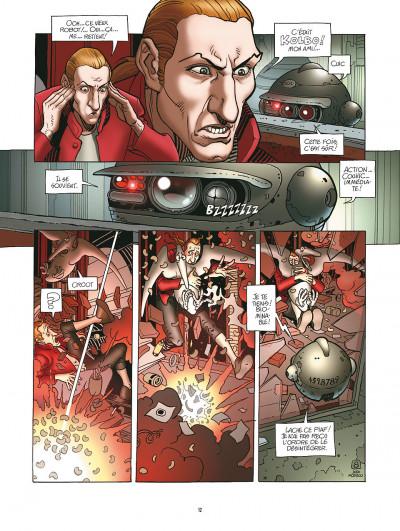 Page 8 après l'incal tome 1 - le nouveau rêve édition 2011