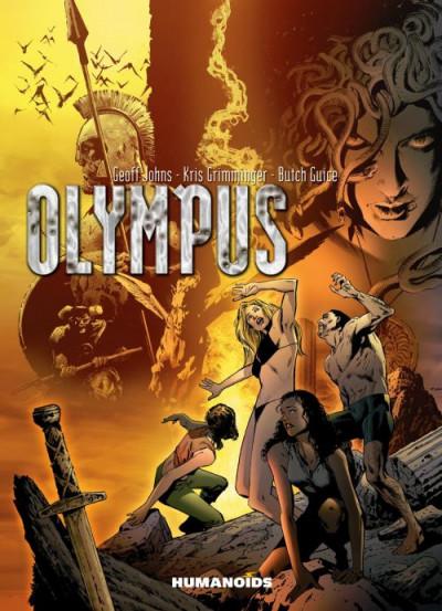 Couverture Olympus ; intégrale