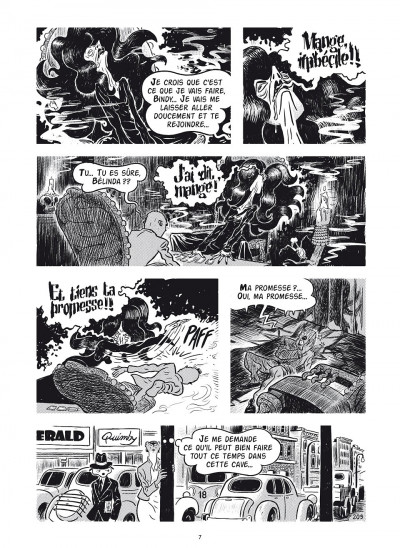 Page 5 cité 14, saison 1 tome 4 - on s'évade comme on peut...