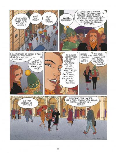 Page 1 la folle du sacré-coeur ; intégrale