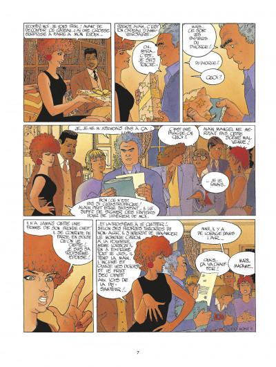 Page 7 la folle du sacré-coeur ; intégrale
