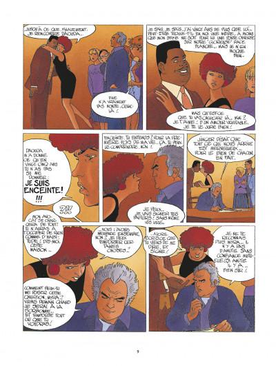 Page 9 la folle du sacré-coeur ; intégrale