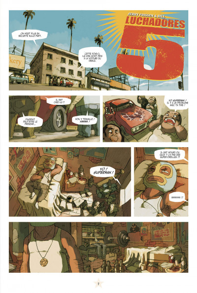 Page 1 lucha libre - intégrale tome 1
