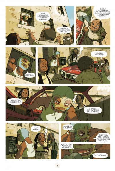 Page 2 lucha libre - intégrale tome 1