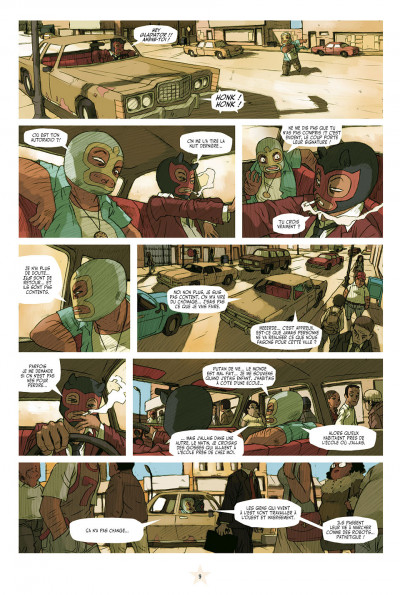 Page 3 lucha libre - intégrale tome 1