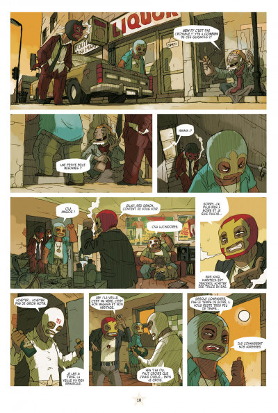 Page 4 lucha libre - intégrale tome 1