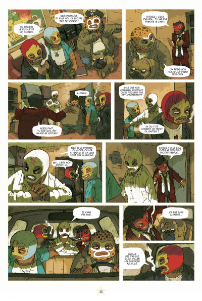 Page 6 lucha libre - intégrale tome 1
