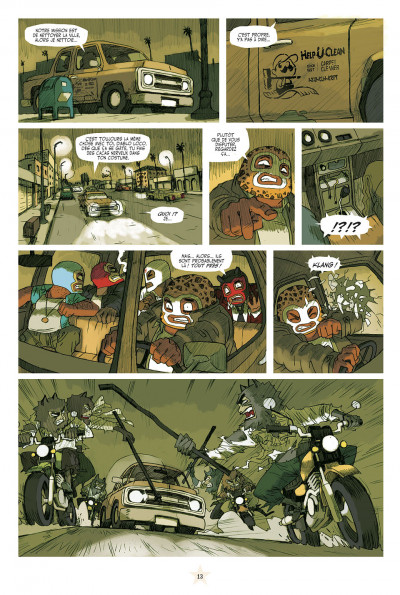 Page 7 lucha libre - intégrale tome 1