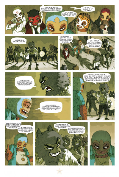 Page 9 lucha libre - intégrale tome 1