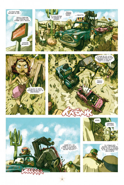 Page 4 Lucha libre - intégrale tome 2