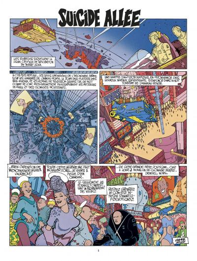 Page 1 avant l'Incal ; intégrale
