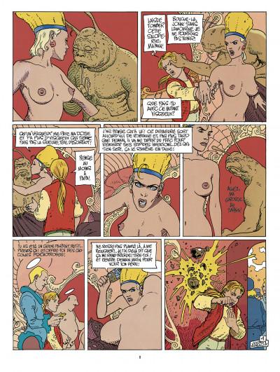 Page 4 avant l'Incal ; intégrale