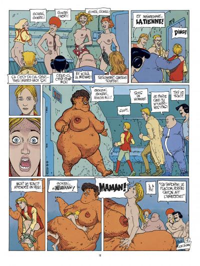 Page 6 avant l'Incal ; intégrale