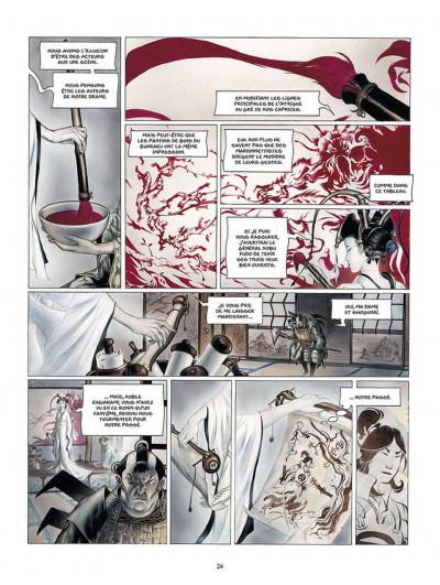 Page 1 la légende des nuées écarlates ; intégrale