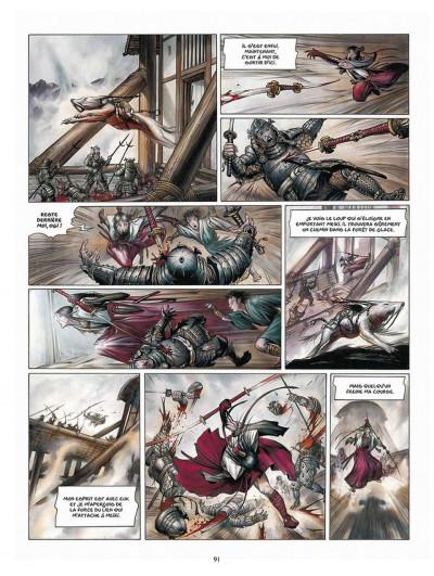 Page 2 la légende des nuées écarlates ; intégrale