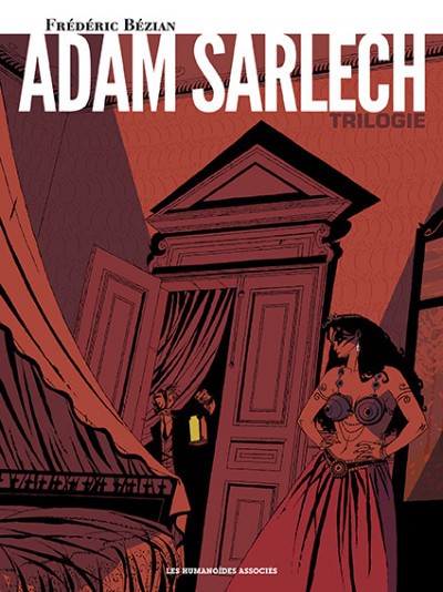Couverture Adam Sarlech - Intégrale