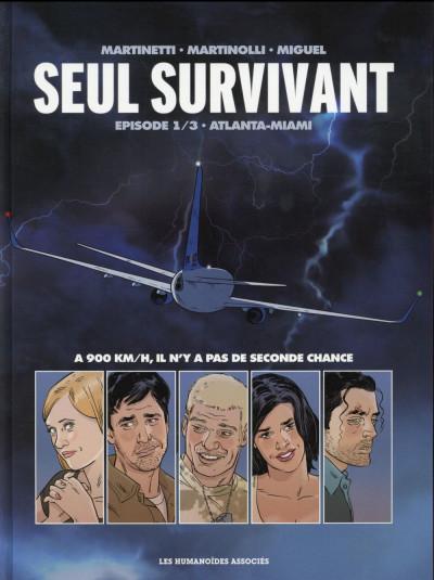 Couverture Seul survivant tome 1