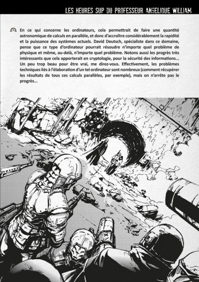 Page 4 omega complex ; intégrale