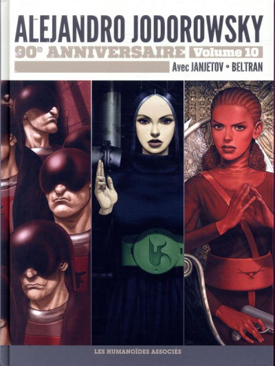 Couverture Jodorowsky 90 ans tome 10