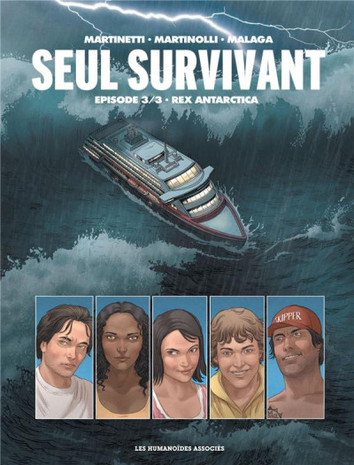 Couverture Seul survivant tome 3