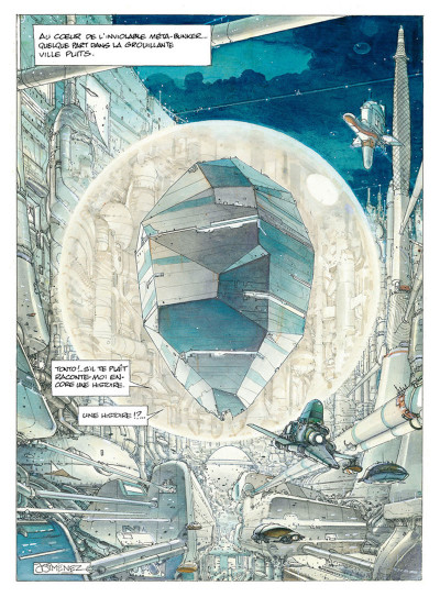 Page 1 La Caste des Méta-Barons tome 1 - édition 2015