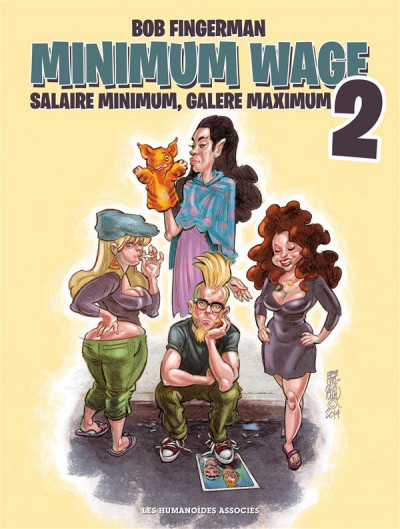 Couverture Minimum Wage tome 2