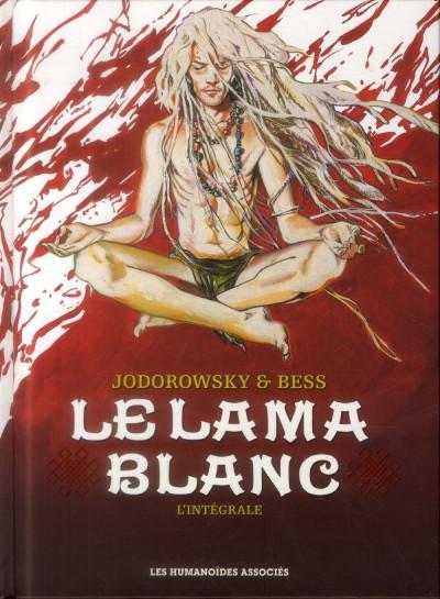 Couverture Le Lama Blanc - Intégrale 40 ans