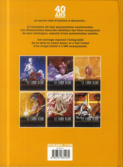 Dos Le Lama Blanc - Intégrale 40 ans