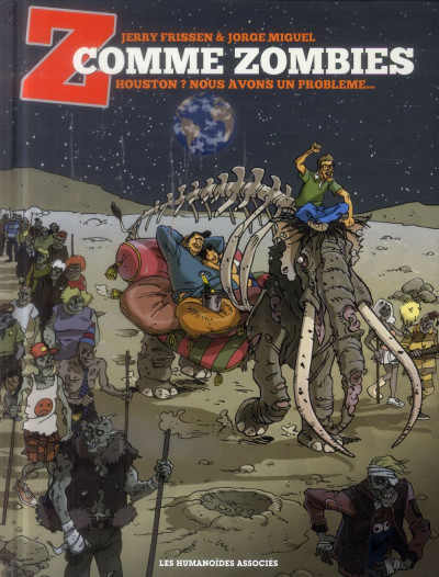 Couverture Z comme Zombies - Le Bon, la brute et le mammouth