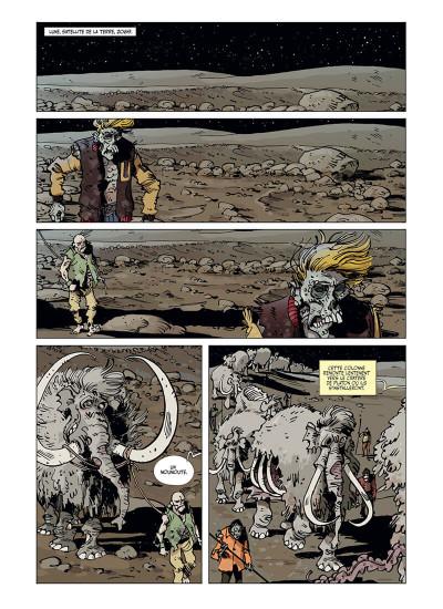 Page 4 Z comme Zombies - Le Bon, la brute et le mammouth