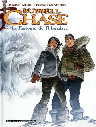 Couverture Russell Chase - Pack tomes 1 + 2 (1 tome offert)