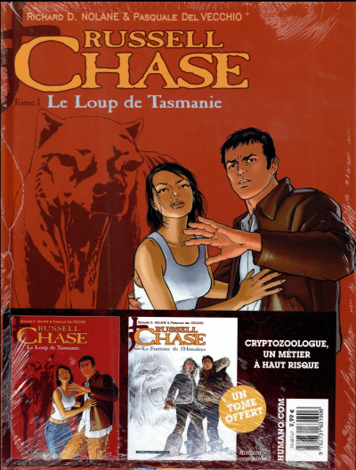 Dos Russell Chase - Pack tomes 1 + 2 (1 tome offert)