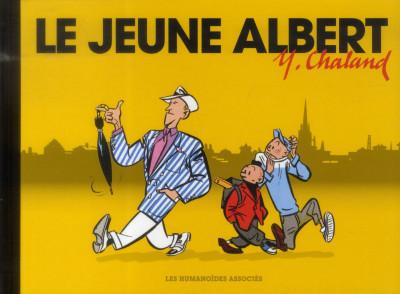 Couverture Le Jeune Albert (Format à l'italienne)