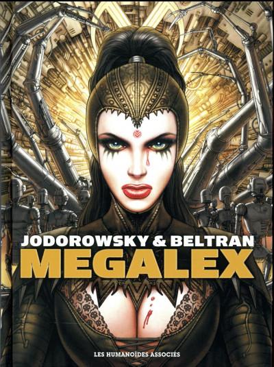 Couverture Megalex - intégrale (édition 2017)
