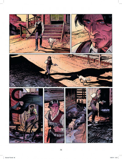 Page 2 bouncer - intégrale 2 - tome 3 à tome 5