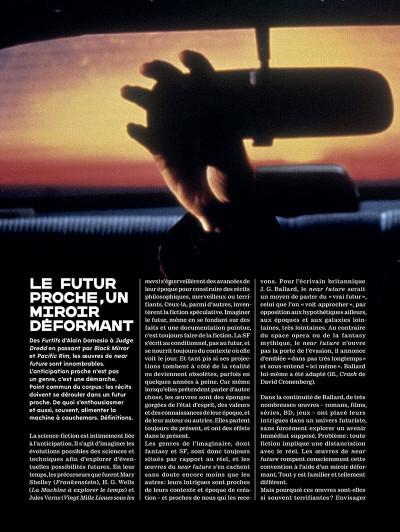 Page 6 Métal hurlant - Le futur c'est déjà demain + ex-libris offert