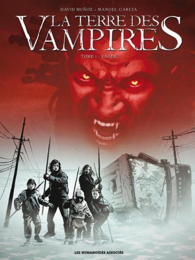 image de la terre des vampires tome 1 - exode