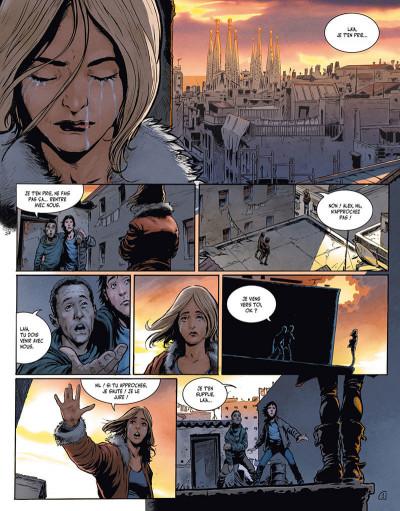 Page 3 la terre des vampires tome 1 - exode