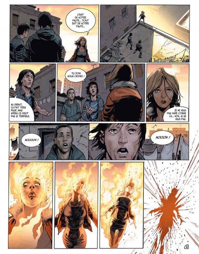 Page 4 la terre des vampires tome 1 - exode