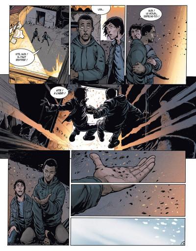 Page 5 la terre des vampires tome 1 - exode