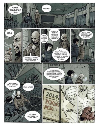 Page 7 la terre des vampires tome 1 - exode