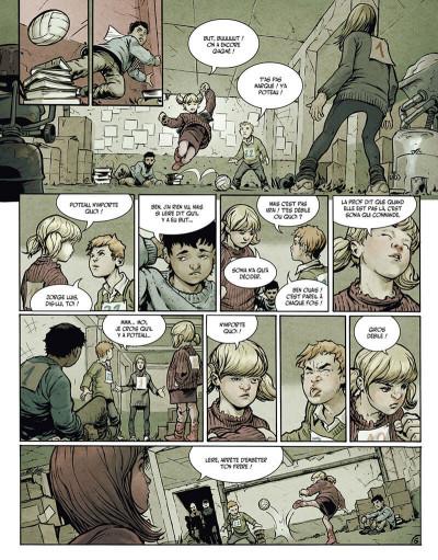 Page 8 la terre des vampires tome 1 - exode