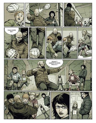 Page 9 la terre des vampires tome 1 - exode