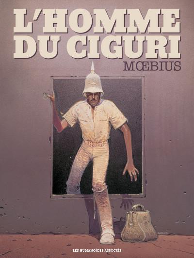 Couverture L'Homme du Ciguri (édition de luxe)
