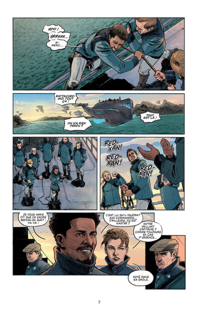 Page 7 L'évadé de C.I.D. island
