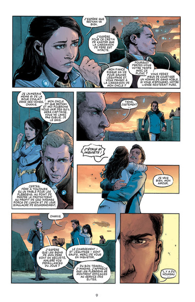 Page 9 L'évadé de C.I.D. island